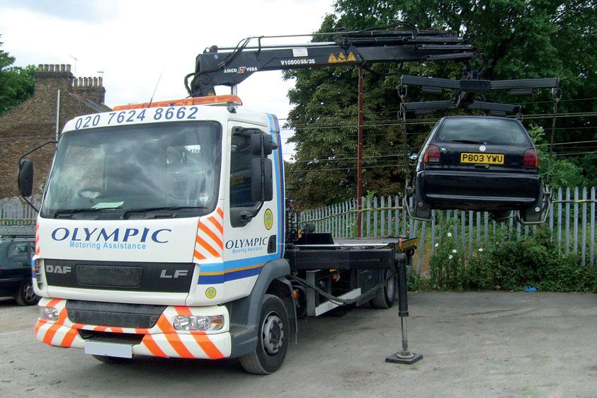 HIAB Loader Crane :: Olympic Motoring Assistance :: 24 ...